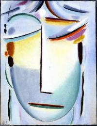 Alexei jawlensky savior s face waiting in suffering